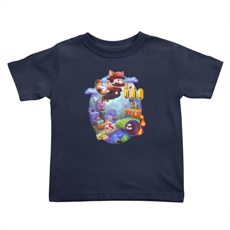 High Adventure Kids Toddler T-Shirt by dustinlincoln's Artist Shop