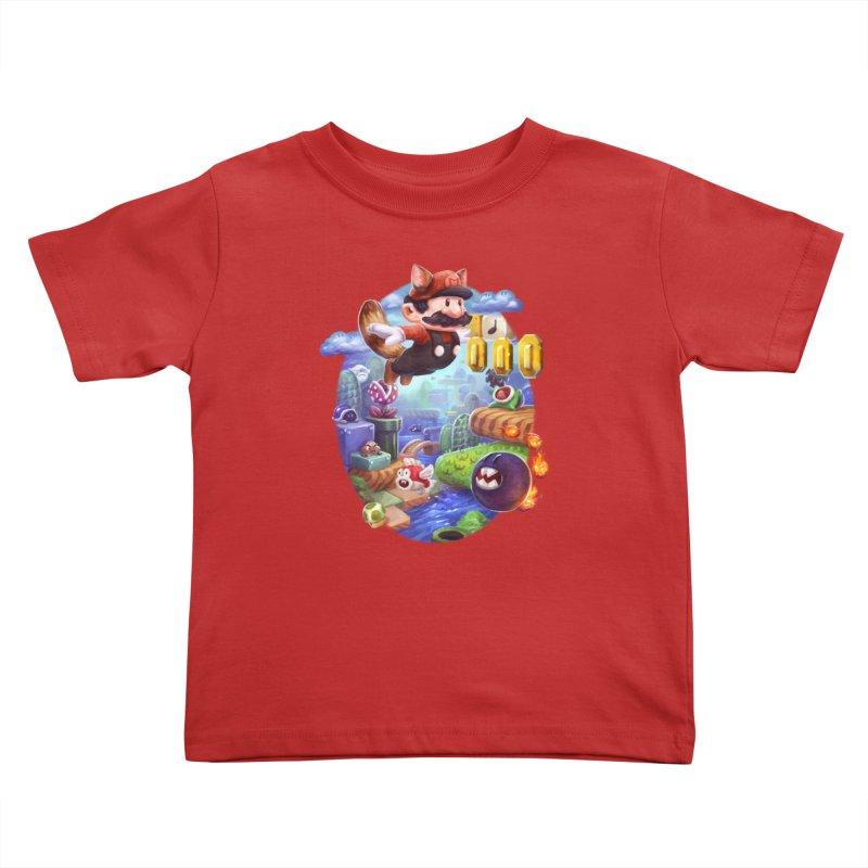 High Adventure Kids Toddler T-Shirt by dustinlincoln's Artist Shop