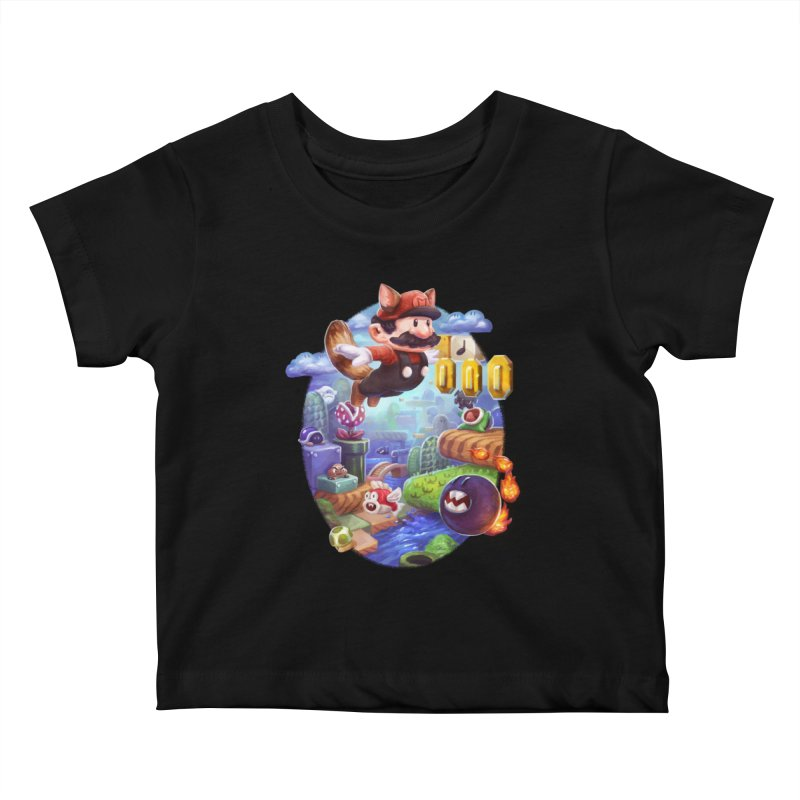High Adventure Kids Baby T-Shirt by dustinlincoln's Artist Shop