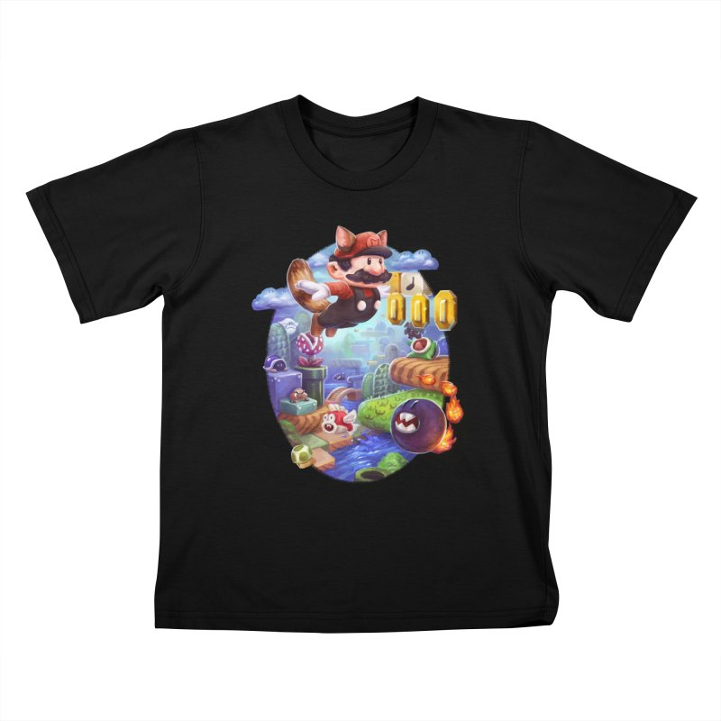 High Adventure Kids T-Shirt by dustinlincoln's Artist Shop