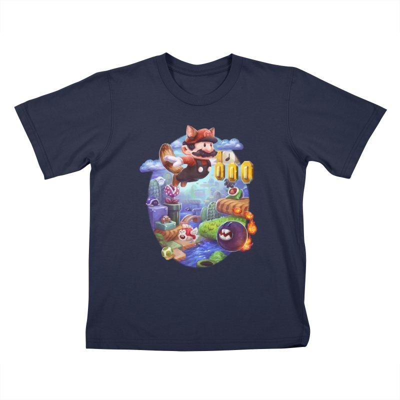 High Adventure Kids T-Shirt by dustinlincoln's Artist Shop