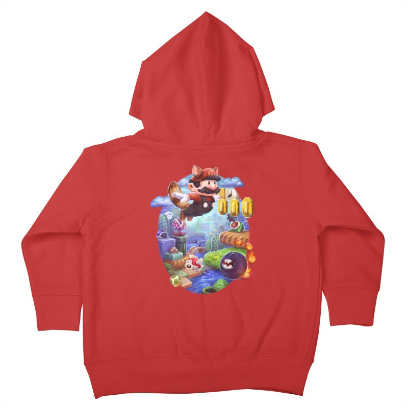 High Adventure Kids Toddler Zip-Up Hoody by dustinlincoln's Artist Shop