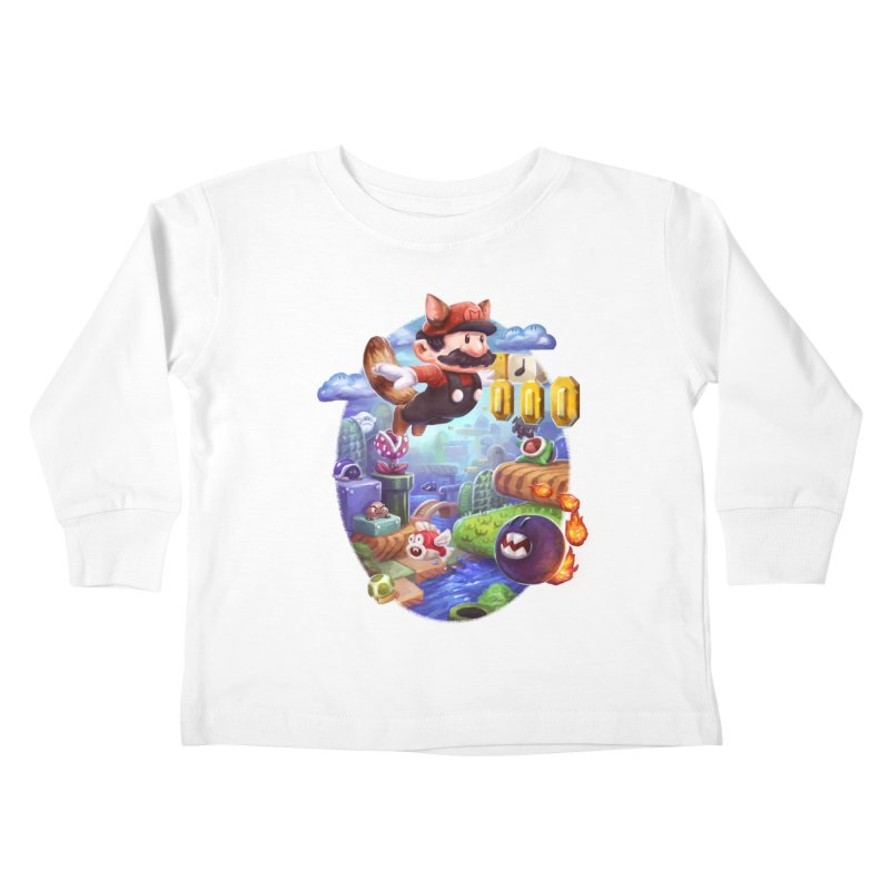 High Adventure Kids Toddler Longsleeve T-Shirt by dustinlincoln's Artist Shop