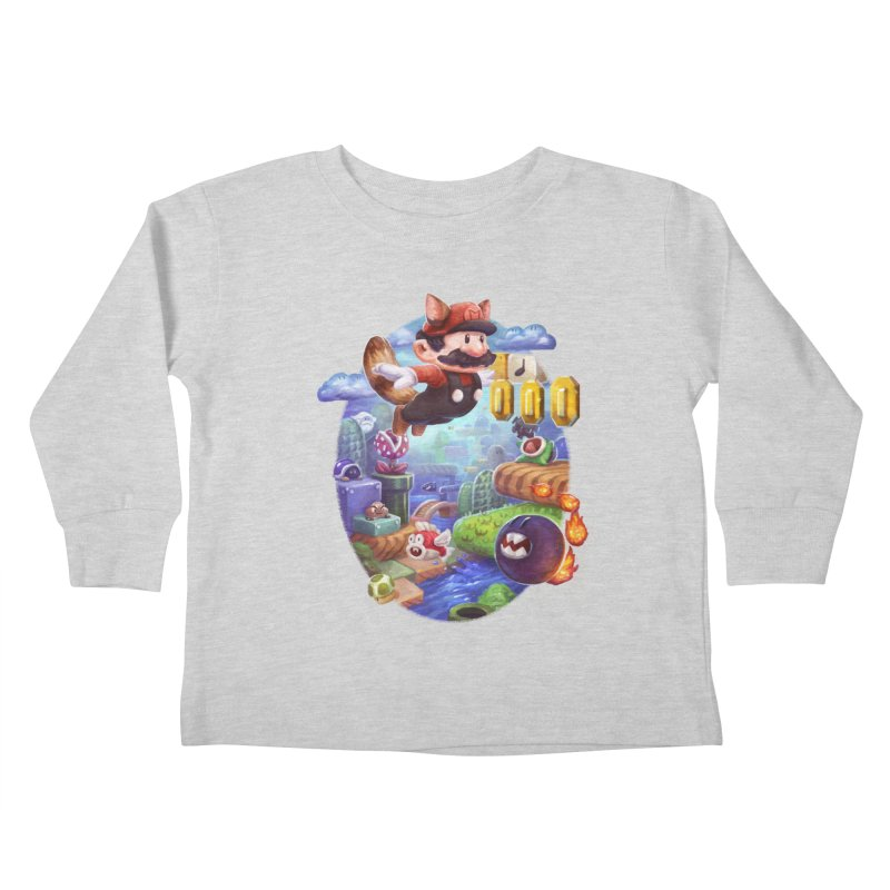 High Adventure Kids Toddler Longsleeve T-Shirt by dustinlincoln's Artist Shop