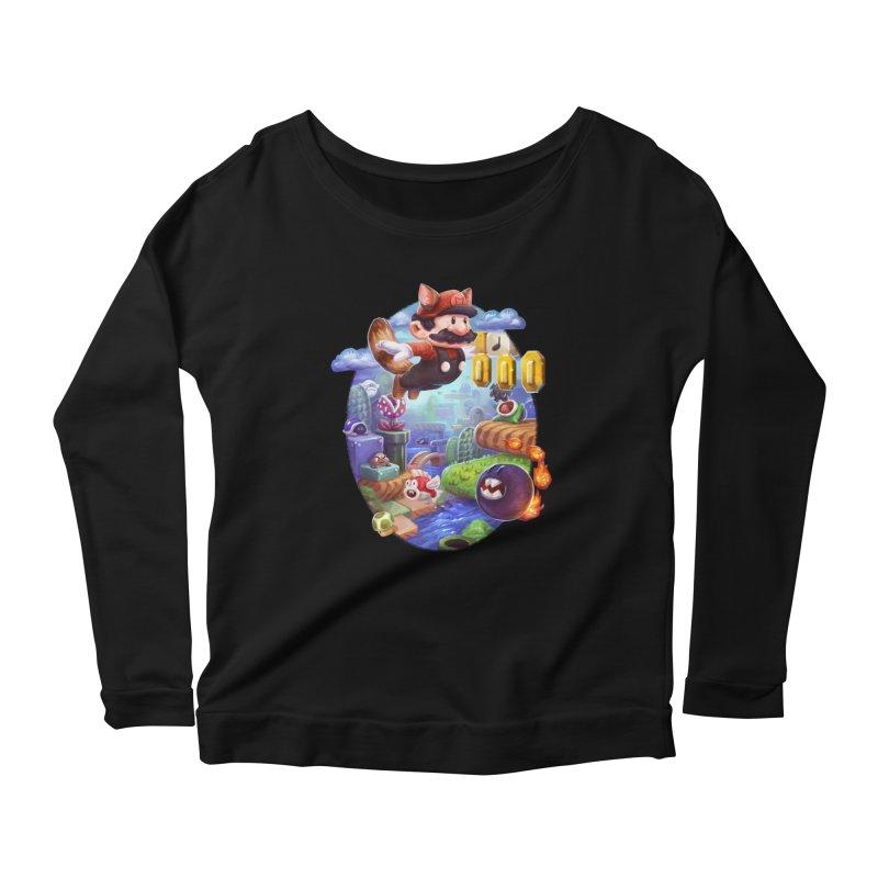 High Adventure Women's Scoop Neck Longsleeve T-Shirt by dustinlincoln's Artist Shop