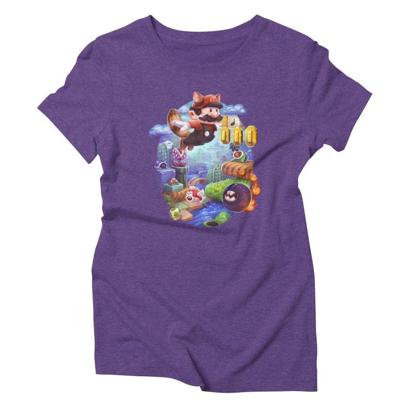 High Adventure Women's Triblend T-Shirt by dustinlincoln's Artist Shop