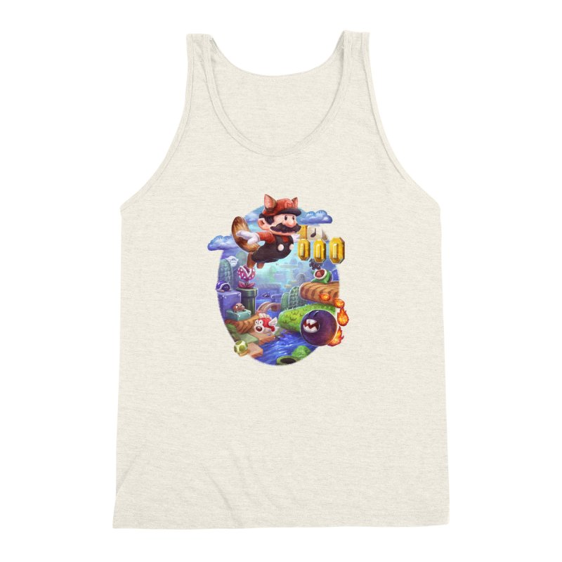 High Adventure Men's Triblend Tank by dustinlincoln's Artist Shop