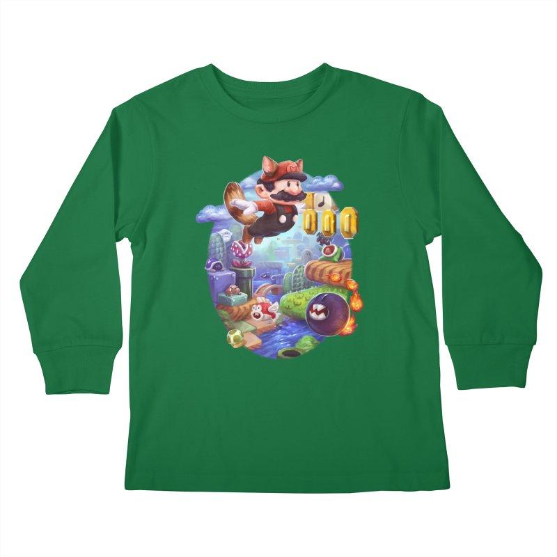 High Adventure Kids Longsleeve T-Shirt by dustinlincoln's Artist Shop