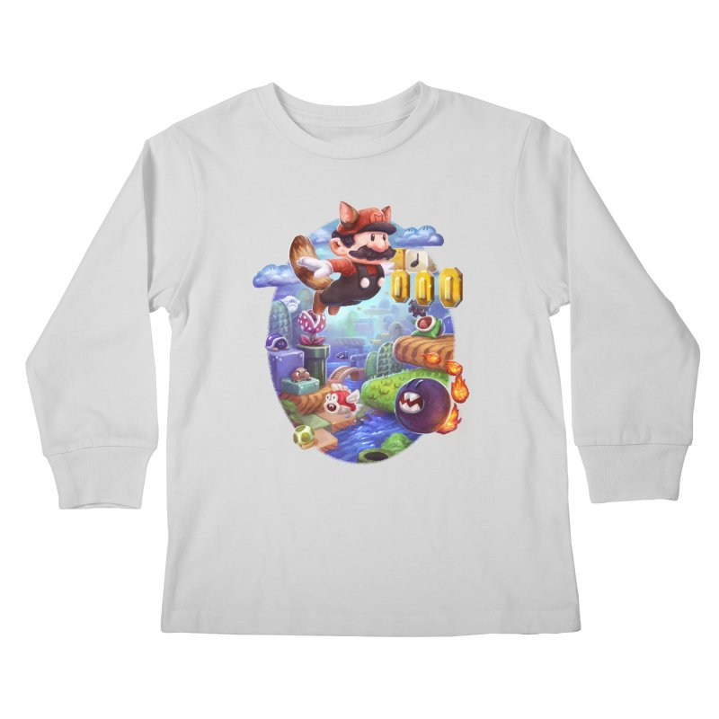 High Adventure Kids Longsleeve T-Shirt by dustinlincoln's Artist Shop