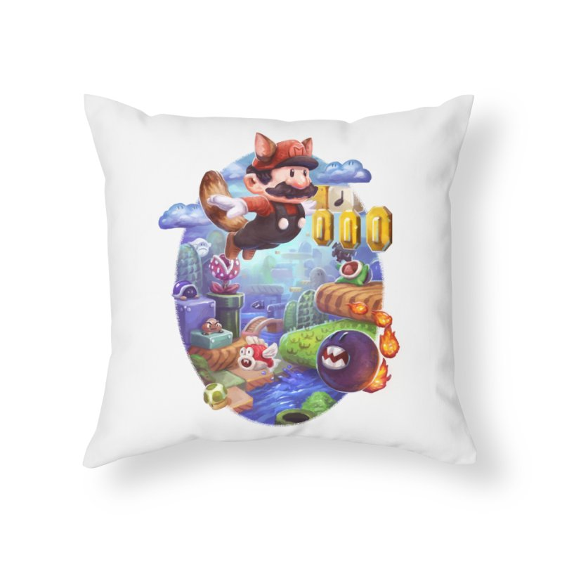 High Adventure Home Throw Pillow by dustinlincoln's Artist Shop