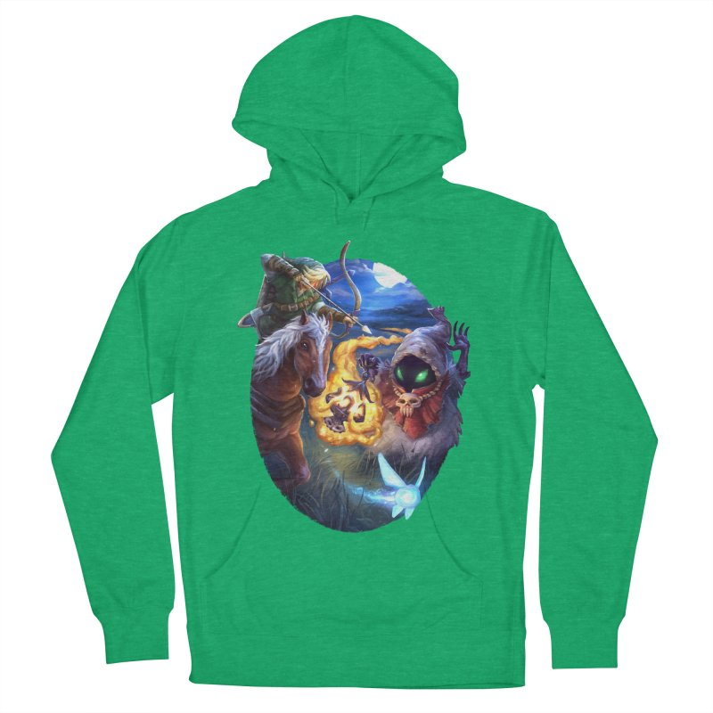Poe Huntin' Women's French Terry Pullover Hoody by dustinlincoln's Artist Shop