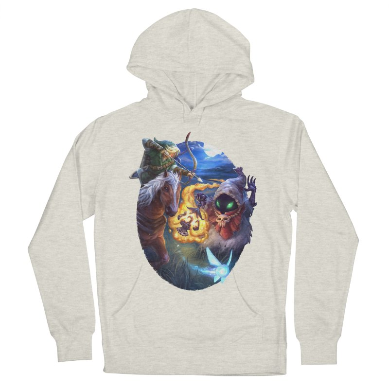 Poe Huntin' Men's French Terry Pullover Hoody by dustinlincoln's Artist Shop