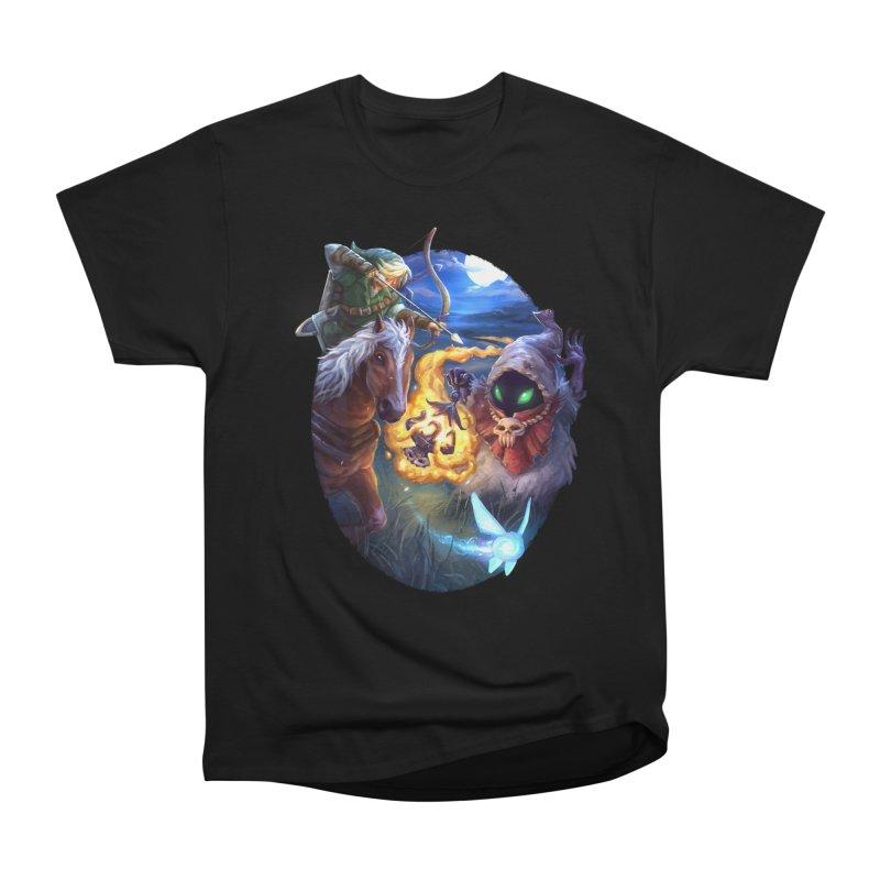Poe Huntin' Women's Classic Unisex T-Shirt by dustinlincoln's Artist Shop