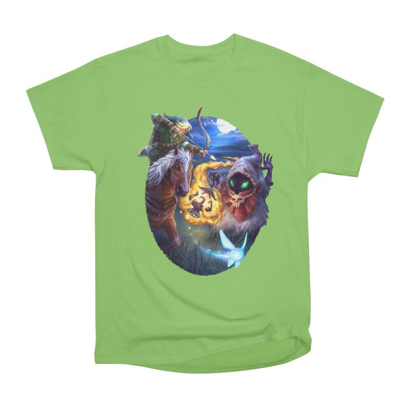 Poe Huntin' Men's Heavyweight T-Shirt by dustinlincoln's Artist Shop