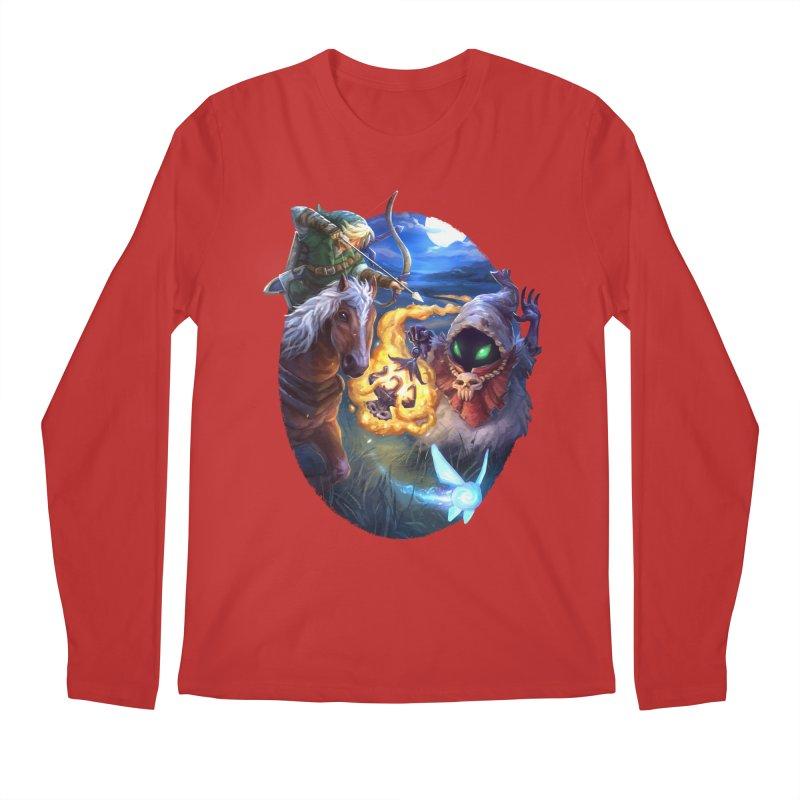 Poe Huntin' Men's Regular Longsleeve T-Shirt by dustinlincoln's Artist Shop