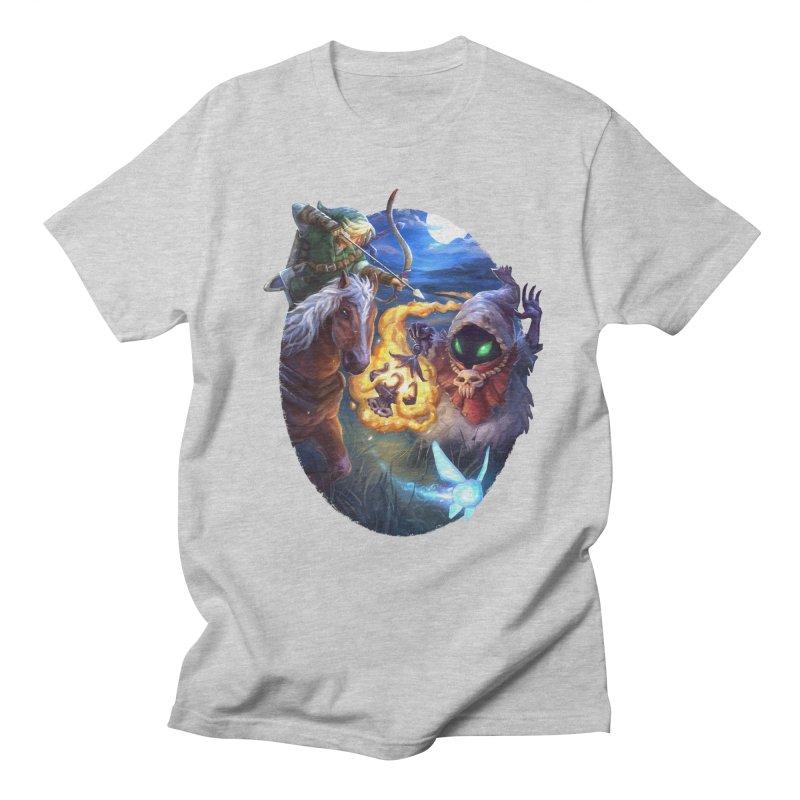 Poe Huntin' Men's Regular T-Shirt by dustinlincoln's Artist Shop