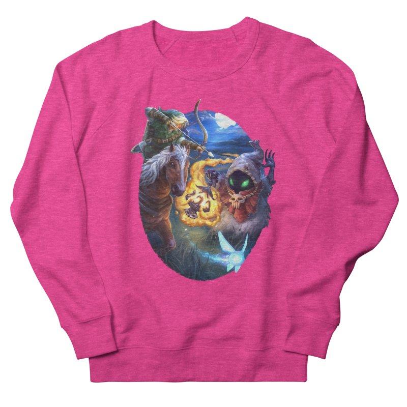 Poe Huntin' Women's French Terry Sweatshirt by dustinlincoln's Artist Shop
