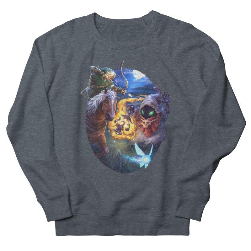 Poe Huntin' Men's Sweatshirt by dustinlincoln's Artist Shop