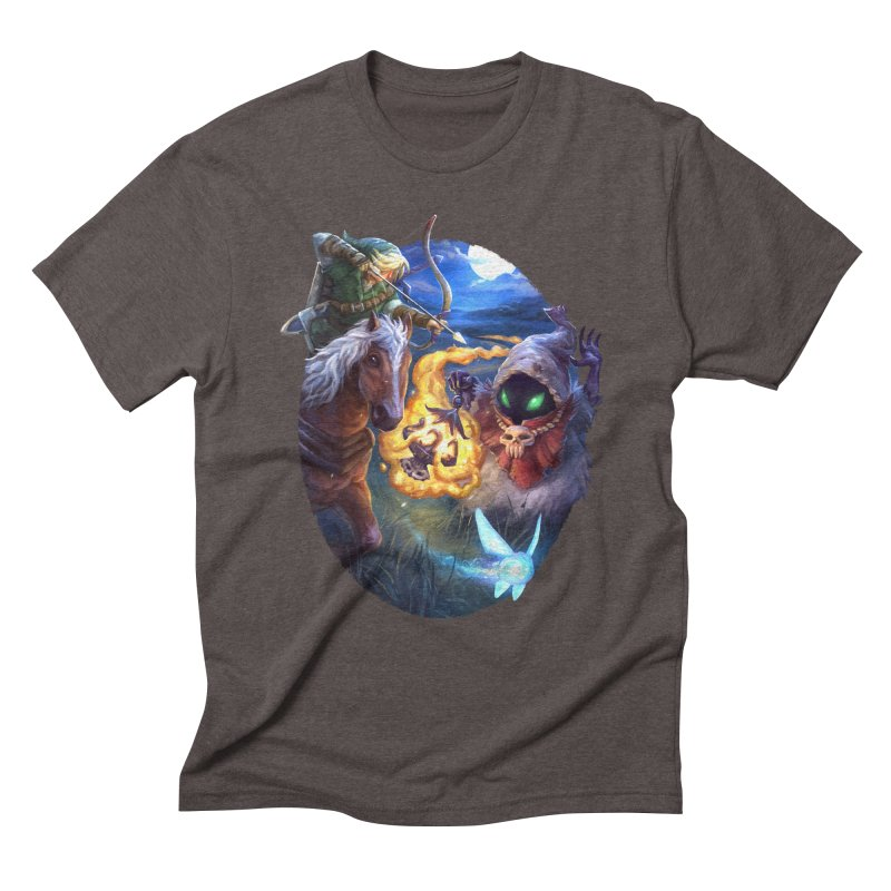 Poe Huntin' Men's Triblend T-Shirt by dustinlincoln's Artist Shop