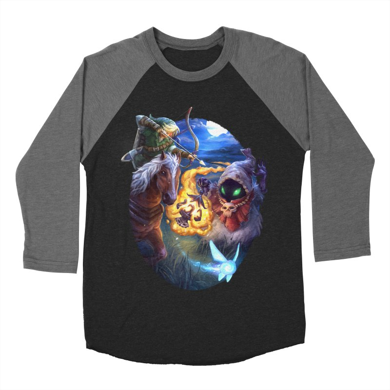 Poe Huntin' Women's Baseball Triblend Longsleeve T-Shirt by dustinlincoln's Artist Shop