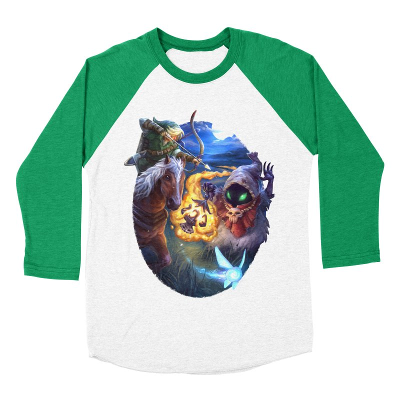 Poe Huntin' Men's Baseball Triblend Longsleeve T-Shirt by dustinlincoln's Artist Shop