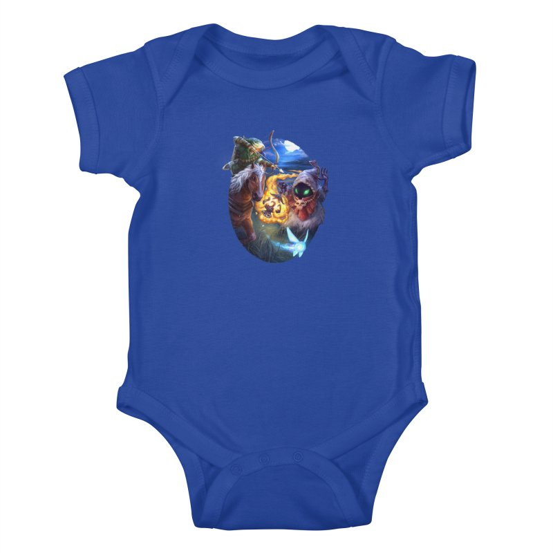 Poe Huntin' Kids Baby Bodysuit by dustinlincoln's Artist Shop