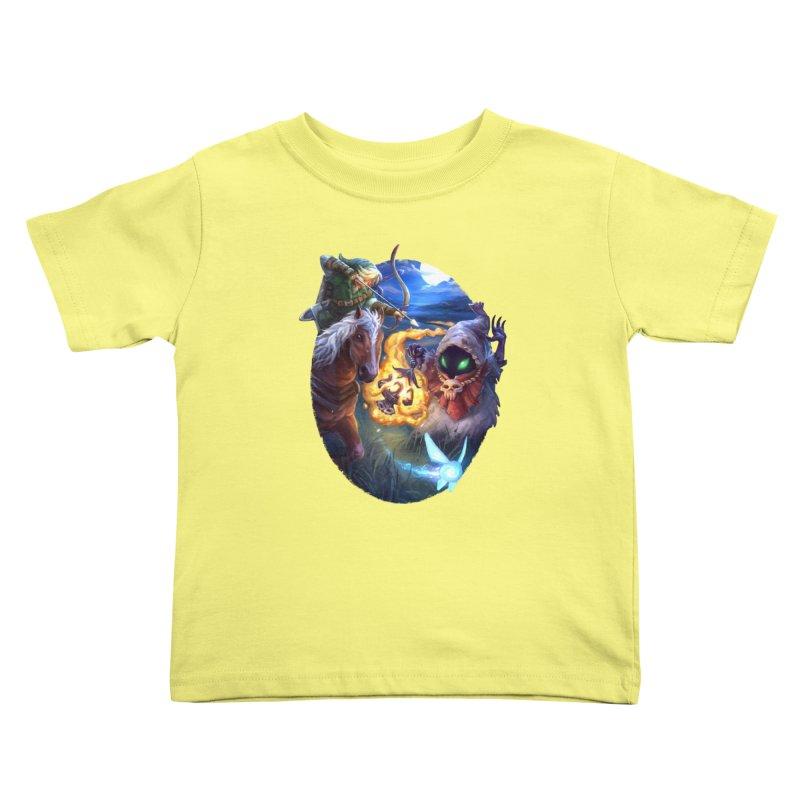 Poe Huntin' Kids Toddler T-Shirt by dustinlincoln's Artist Shop