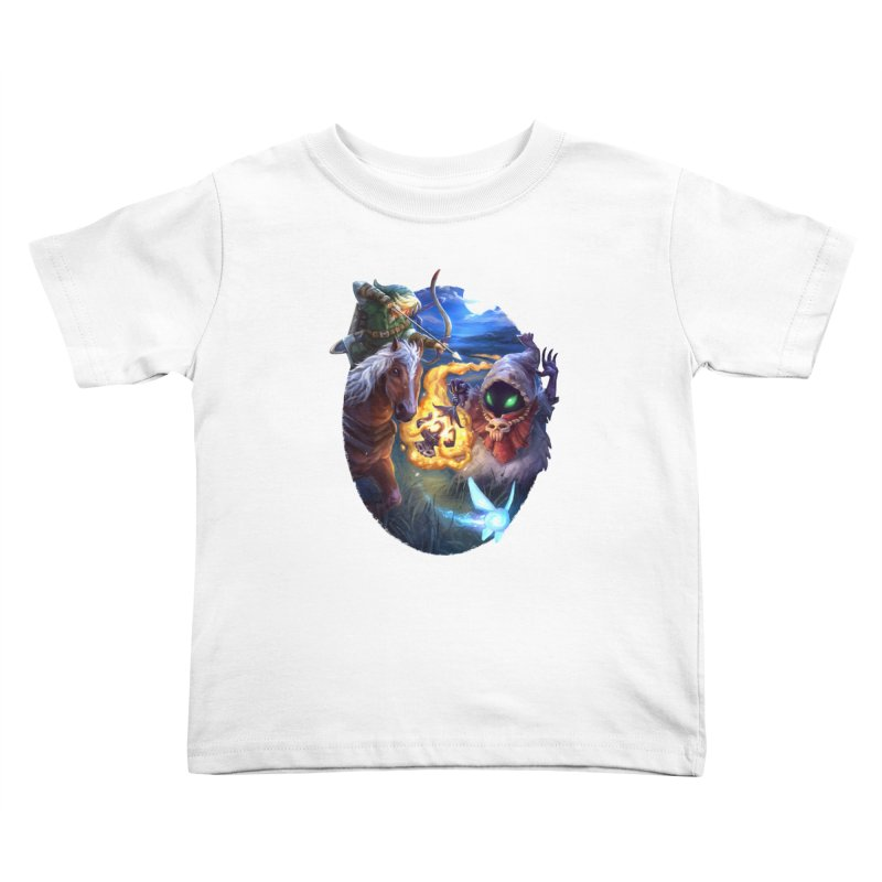 Poe Huntin' Kids Toddler T-Shirt by dustinlincoln's Artist Shop