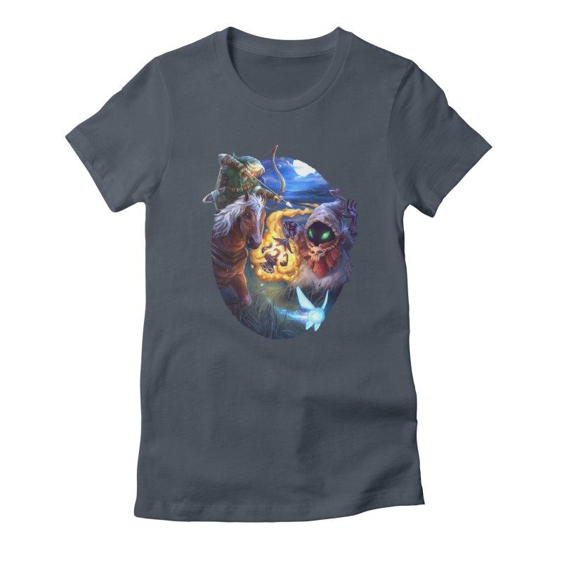 Poe Huntin' Women's T-Shirt by dustinlincoln's Artist Shop