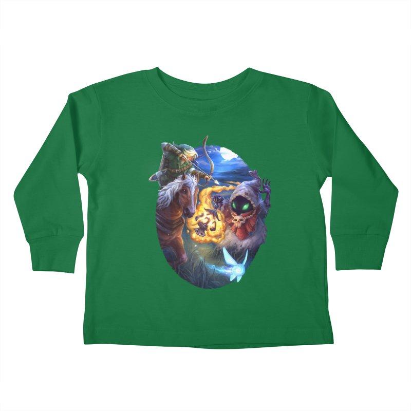 Poe Huntin' Kids Toddler Longsleeve T-Shirt by dustinlincoln's Artist Shop