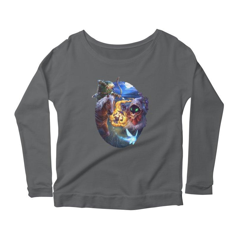 Poe Huntin' Women's Longsleeve T-Shirt by dustinlincoln's Artist Shop