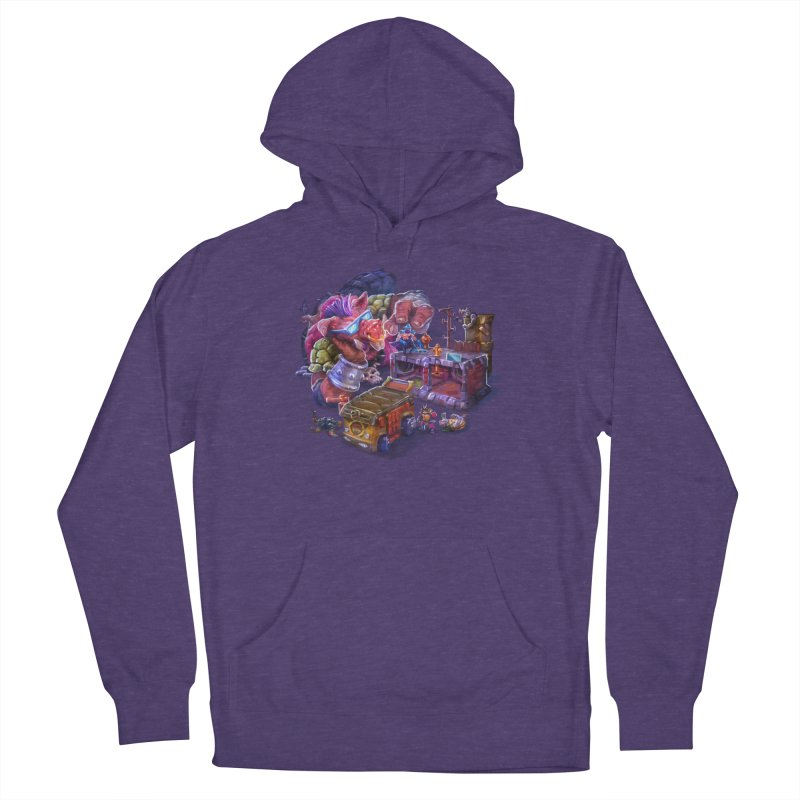 Toytles Men's Pullover Hoody by dustinlincoln's Artist Shop