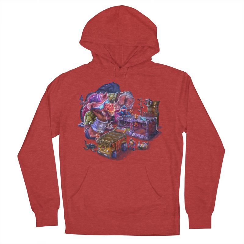 Toytles Women's French Terry Pullover Hoody by dustinlincoln's Artist Shop