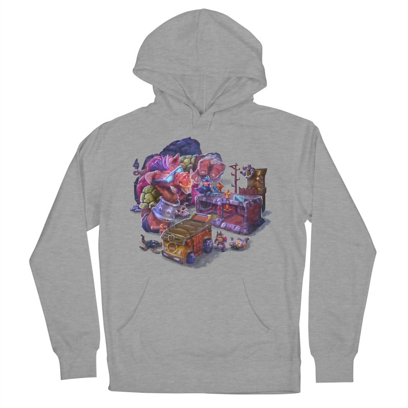 Toytles Men's French Terry Pullover Hoody by dustinlincoln's Artist Shop