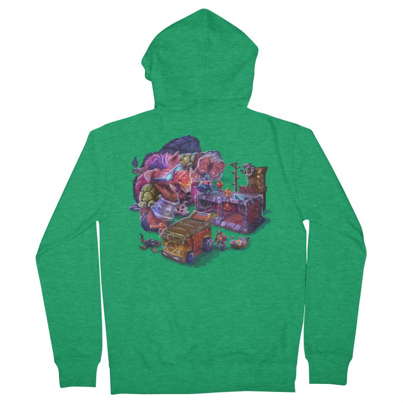 Toytles Women's Zip-Up Hoody by dustinlincoln's Artist Shop