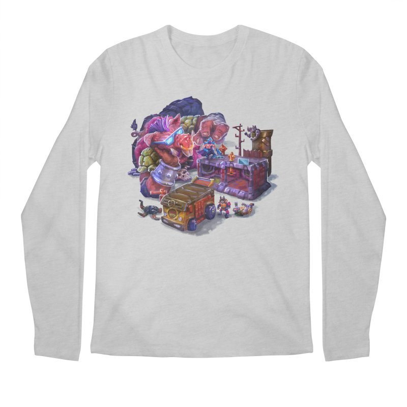 Toytles Men's Longsleeve T-Shirt by dustinlincoln's Artist Shop