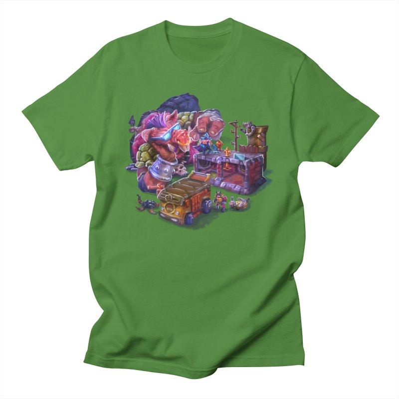 Toytles Men's Regular T-Shirt by dustinlincoln's Artist Shop