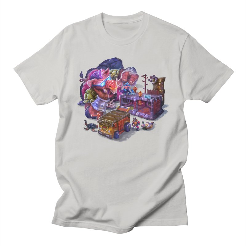 Toytles Women's Regular Unisex T-Shirt by dustinlincoln's Artist Shop
