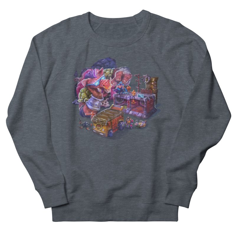 Toytles Women's French Terry Sweatshirt by dustinlincoln's Artist Shop