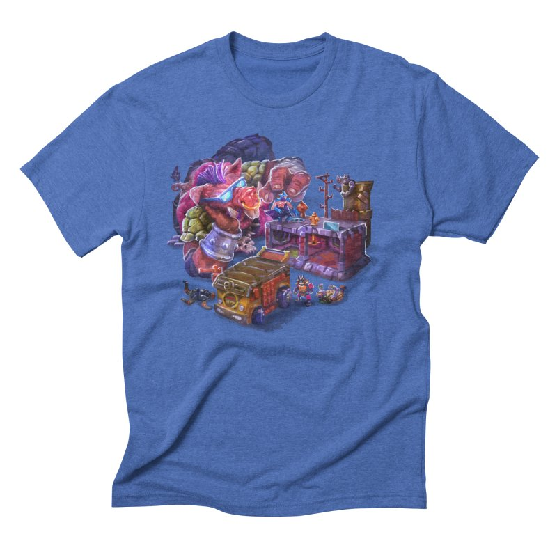 Toytles Men's Triblend T-Shirt by dustinlincoln's Artist Shop