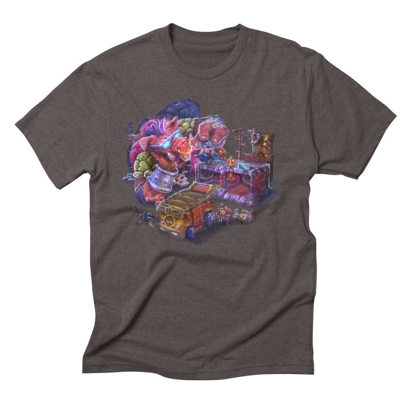 Toytles Men's Triblend T-Shirt by dustinlincoln's Artist Shop