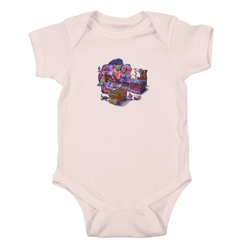 Toytles Kids Baby Bodysuit by dustinlincoln's Artist Shop