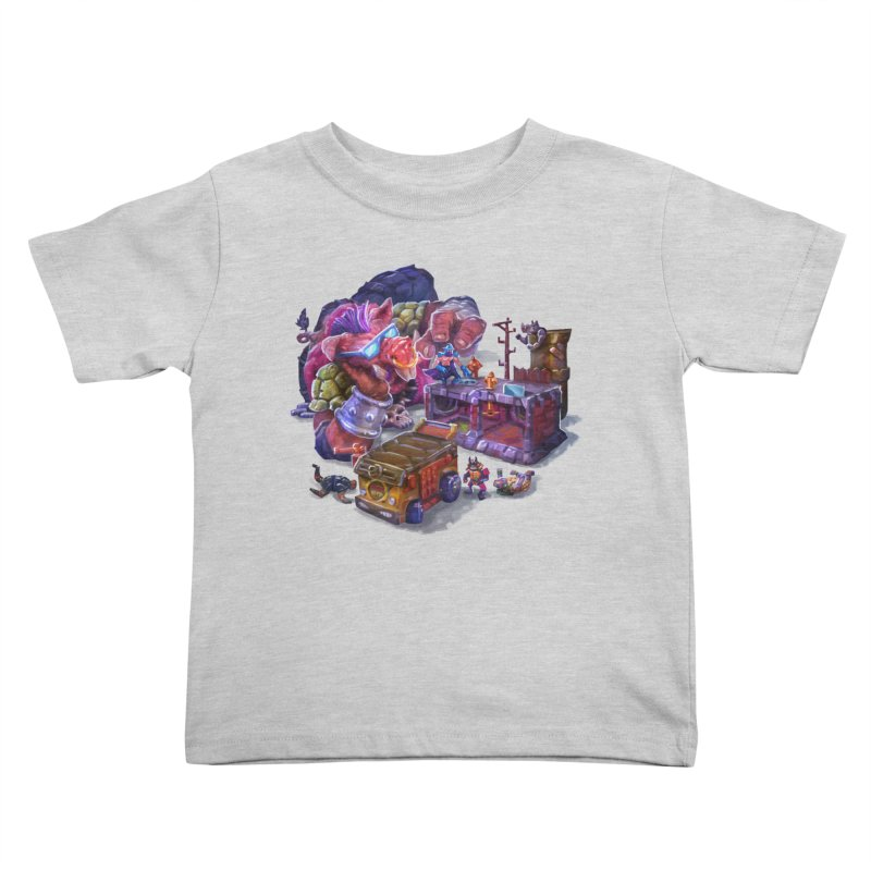 Toytles Kids Toddler T-Shirt by dustinlincoln's Artist Shop