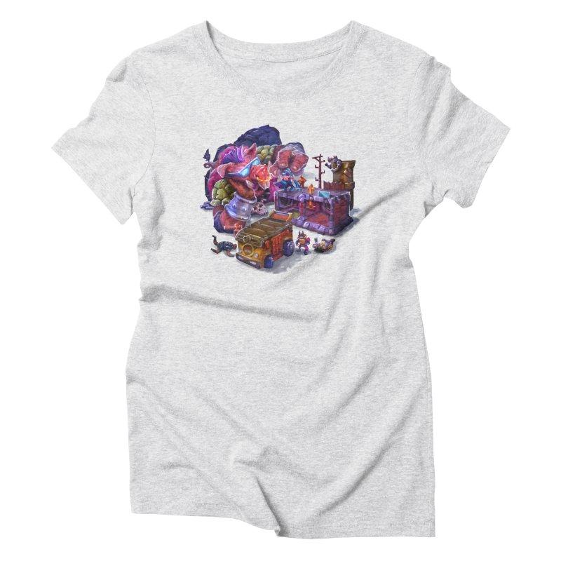Toytles Women's T-Shirt by dustinlincoln's Artist Shop
