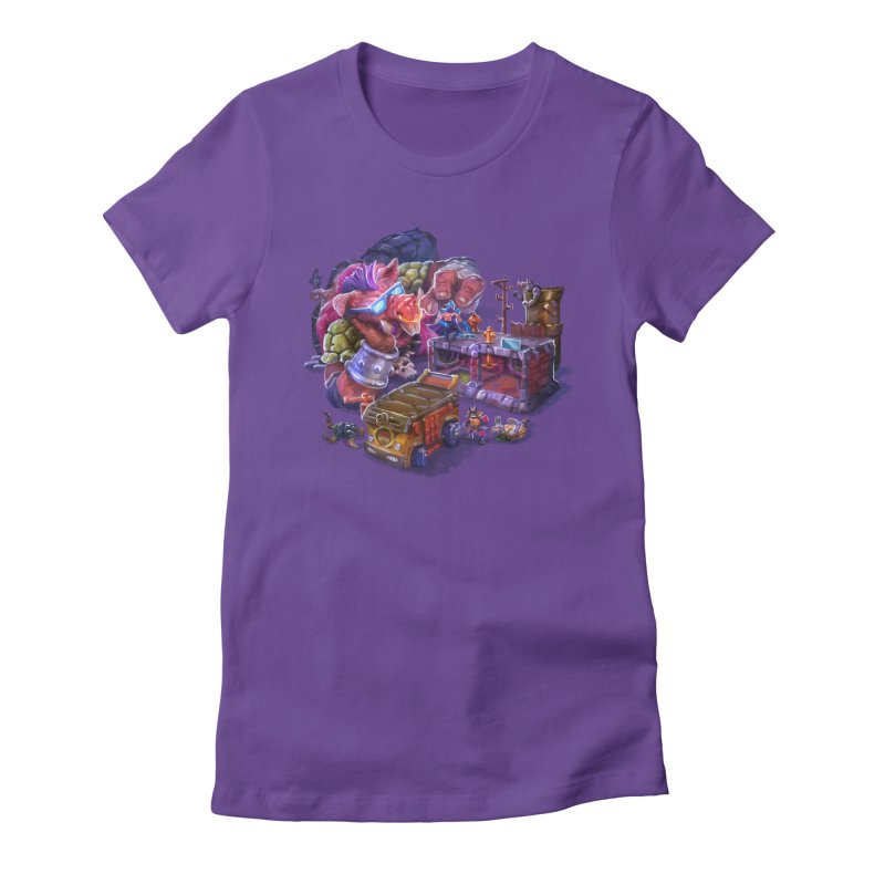 Toytles Women's Fitted T-Shirt by dustinlincoln's Artist Shop