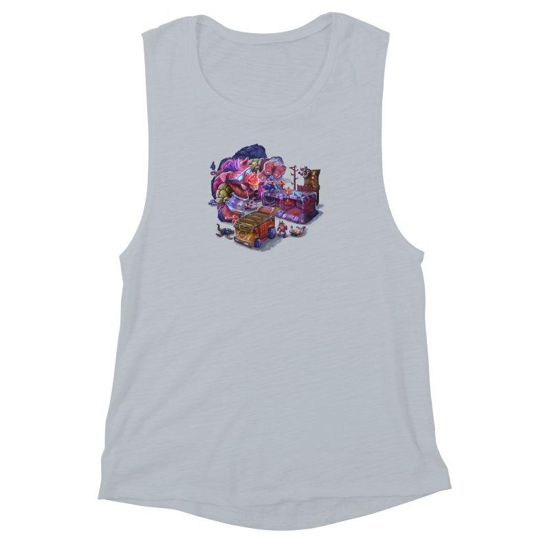 Toytles Women's Muscle Tank by dustinlincoln's Artist Shop
