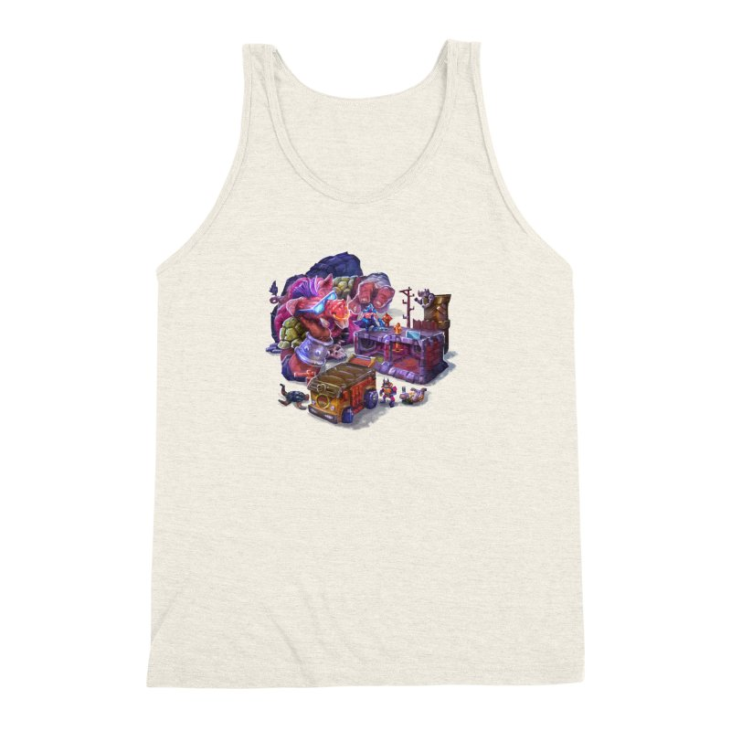 Toytles Men's Triblend Tank by dustinlincoln's Artist Shop