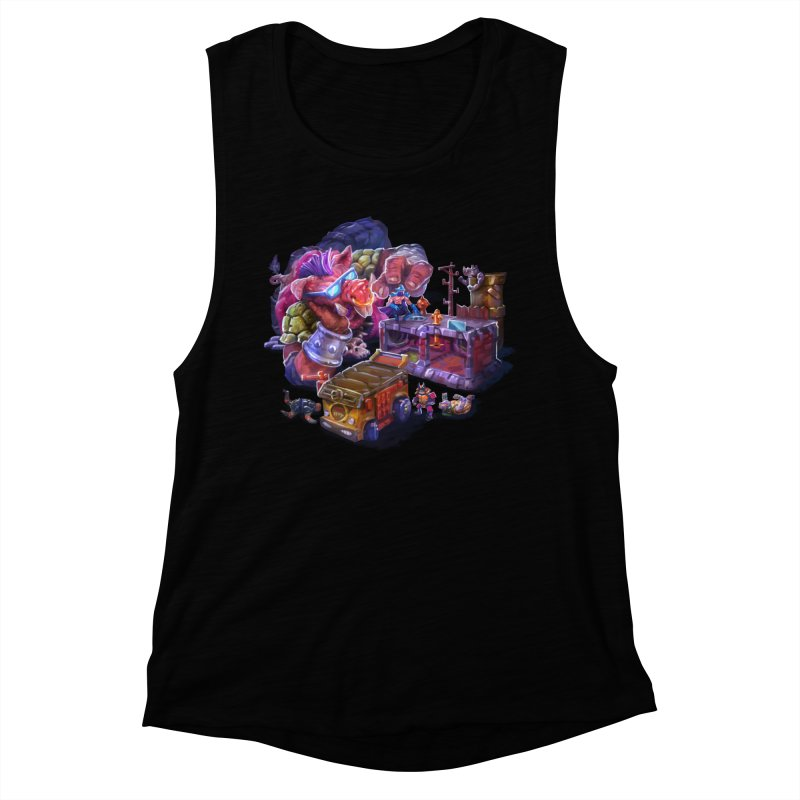 Toytles Women's Muscle Tank by dustinlincoln's Artist Shop