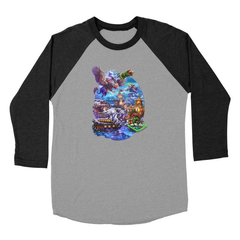 ZugZug Women's Baseball Triblend Longsleeve T-Shirt by dustinlincoln's Artist Shop