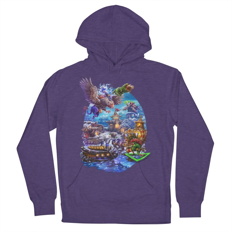 ZugZug Women's French Terry Pullover Hoody by dustinlincoln's Artist Shop